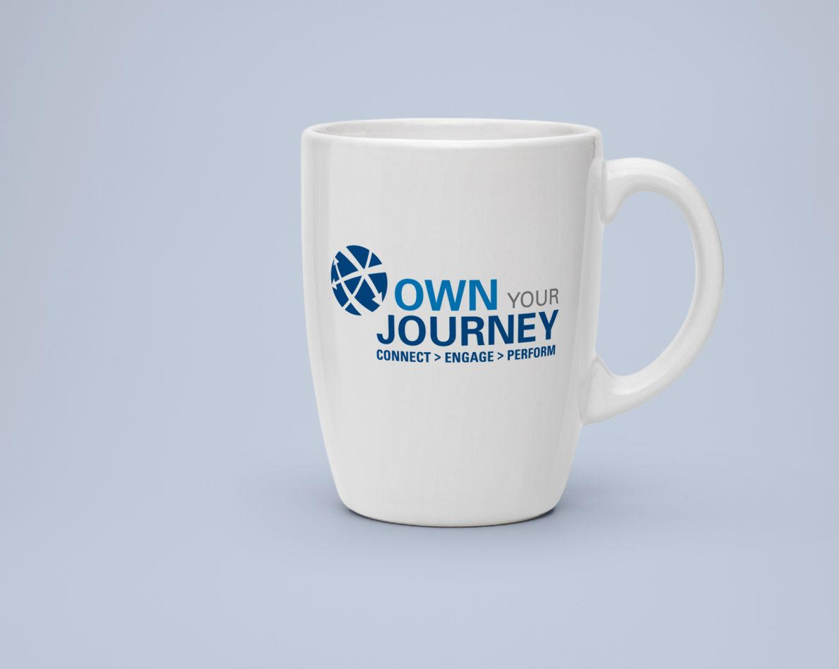 """The empowering """"Own the Journey"""" theme was supported through informative internal collateral"""
