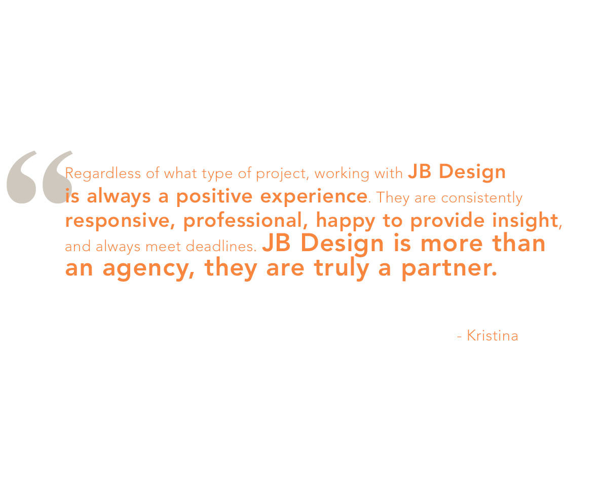 Client feedback – and recognition – is ongoing and greatly appreciated