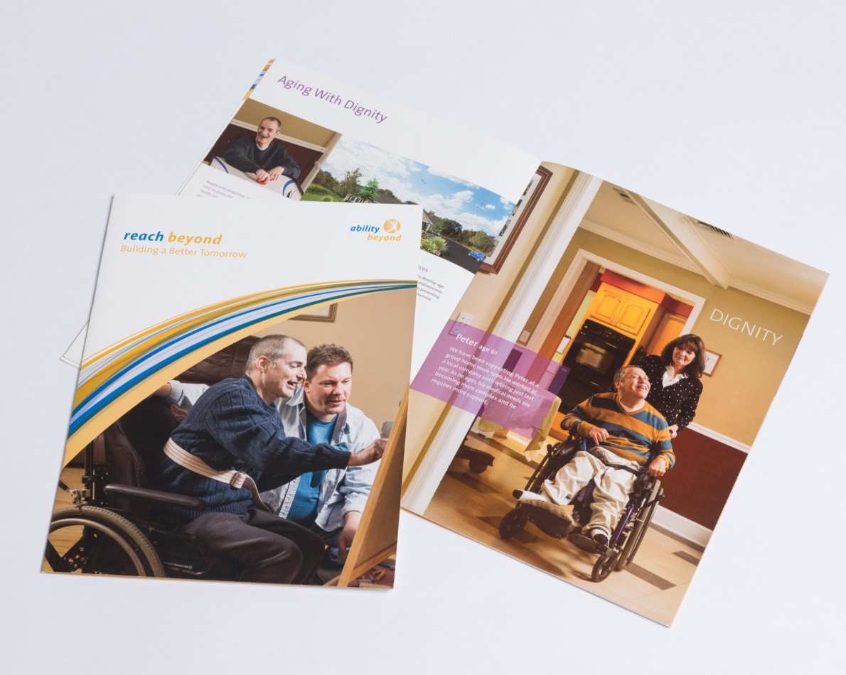 Ability Beyond needs to tout its success on multiple levels to raise awareness and funds to keep its mission alive. Case studies are the perfect way to communicate achievement while demonstrating the organization's potential to change lives for the better.