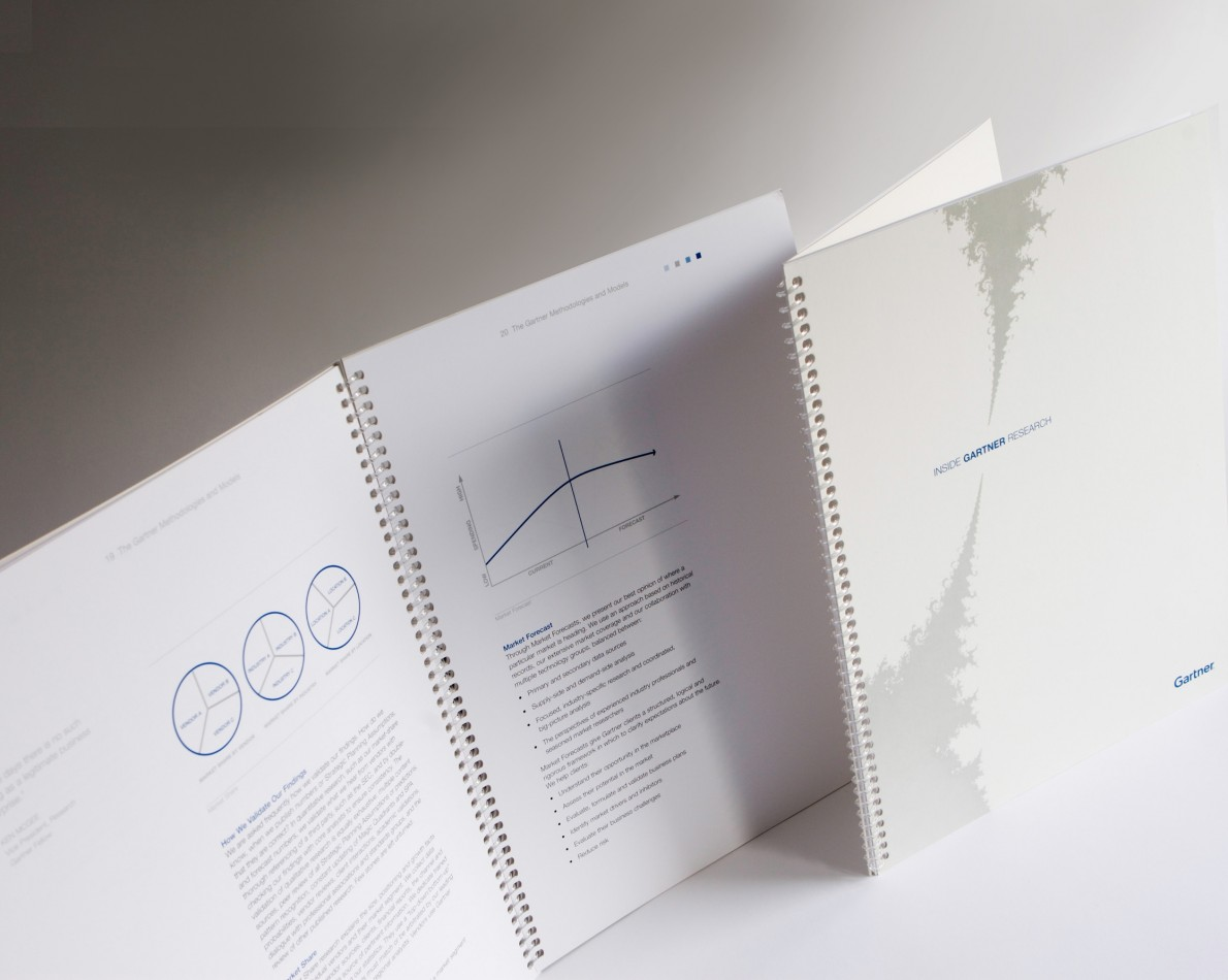 Redesigned research brochures – whitepaper style.