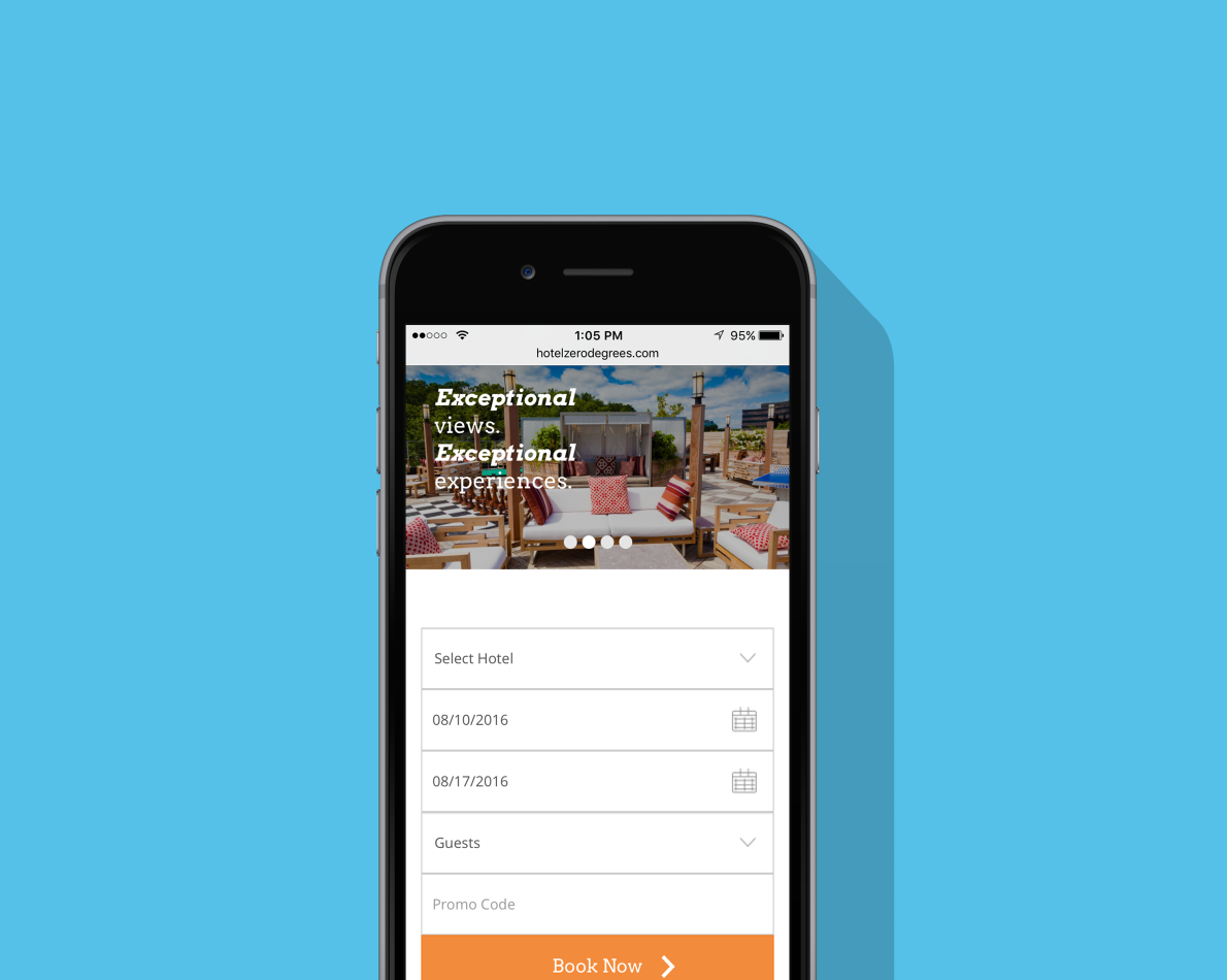The new website is fully responsive across all devices.