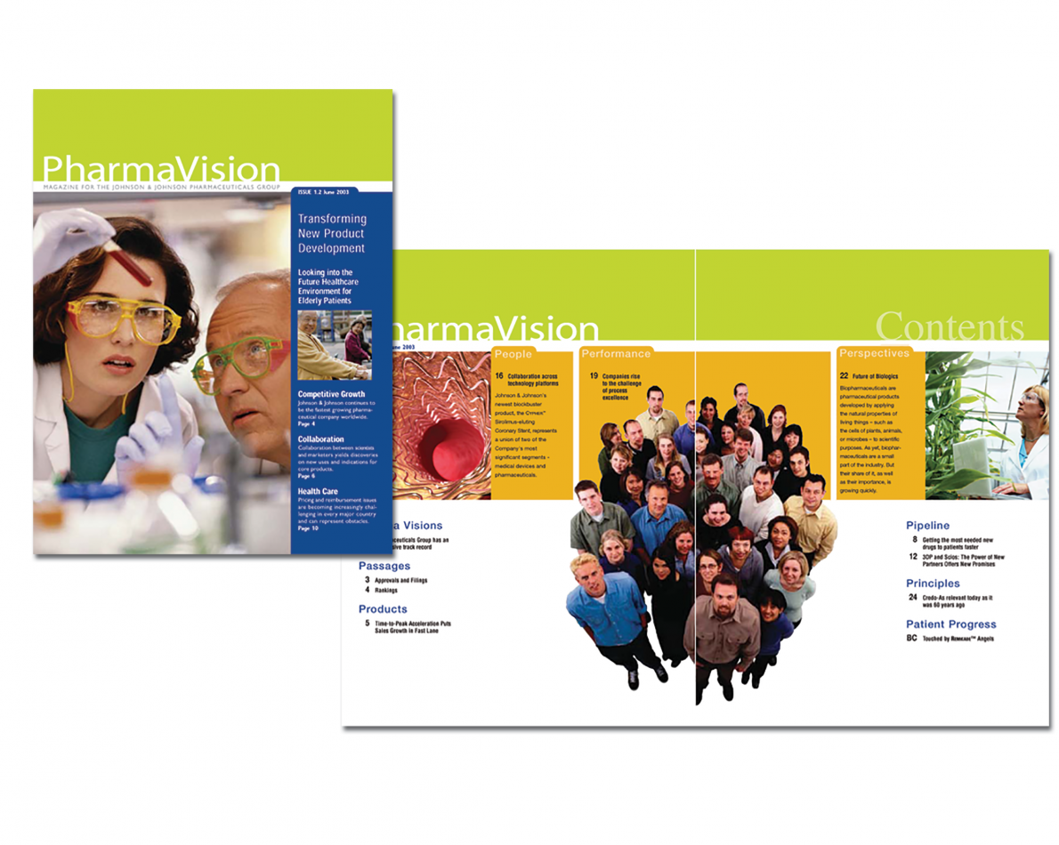 This internal Quarterly Magazine was designed to tout important employee-driven efforts and accomplishments