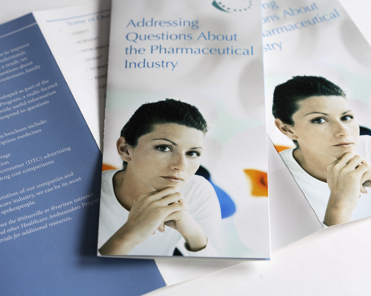 Often, industry-specific brochures are created to address more vertical issues