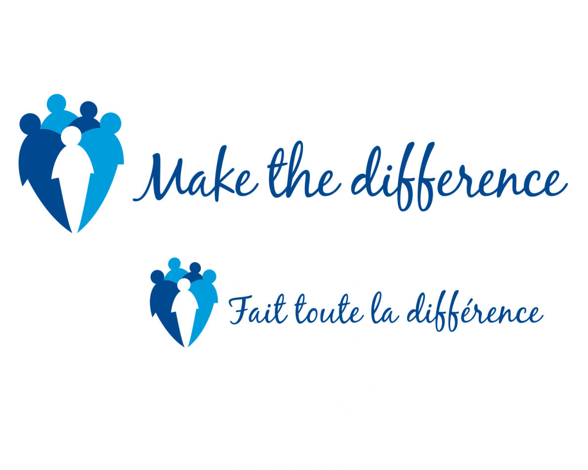 New logo emphasizes the role of the individual in relation to the employee community as a whole.