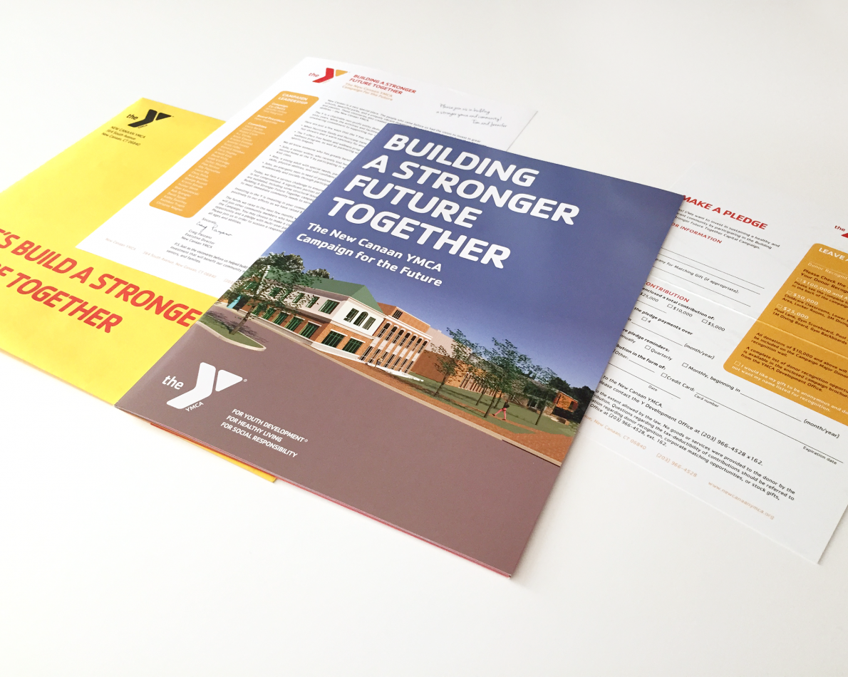 We've enjoyed creating the occasional Y Annual Report – highlighting the year's accomplishments and summing up how donation money was thoughtfully spent