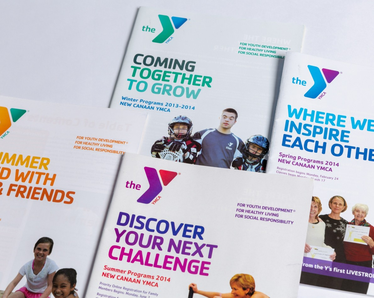 Satisfaction with the website led the Y to trust us with ongoing collateral redesigns