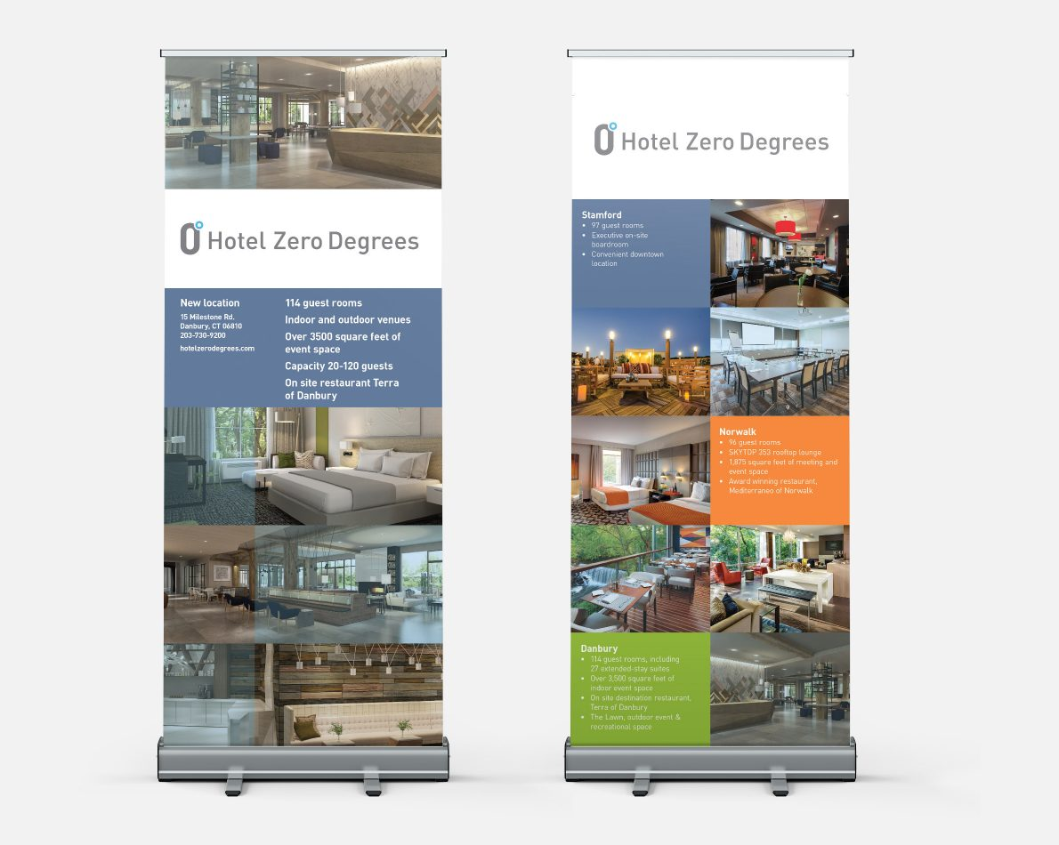 Pop-up Banners for event usage.
